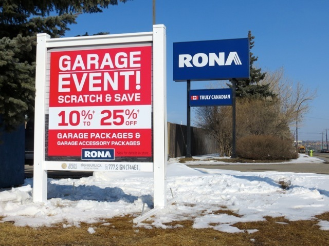 Rona – Garage Event